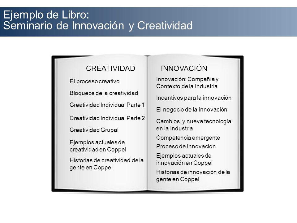 Seminario de Innovación y Creatividad