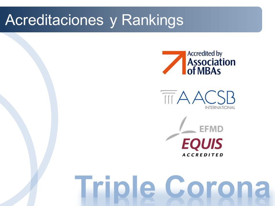 Acreditaciones y Rankings