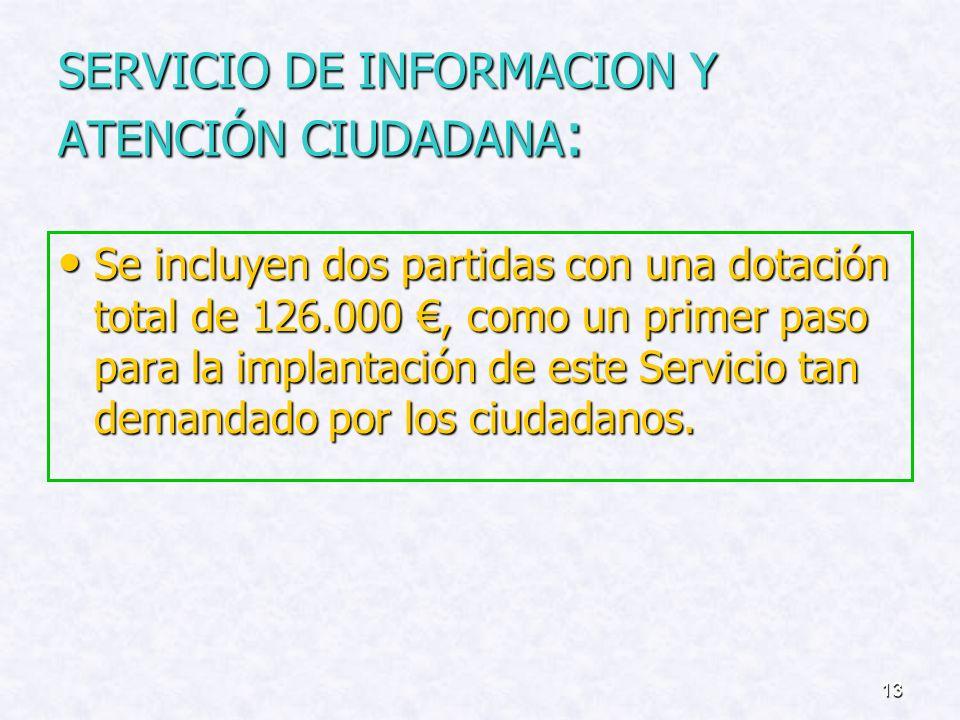 SERVICIO DE INFORMACION Y ATENCIÓN CIUDADANA: