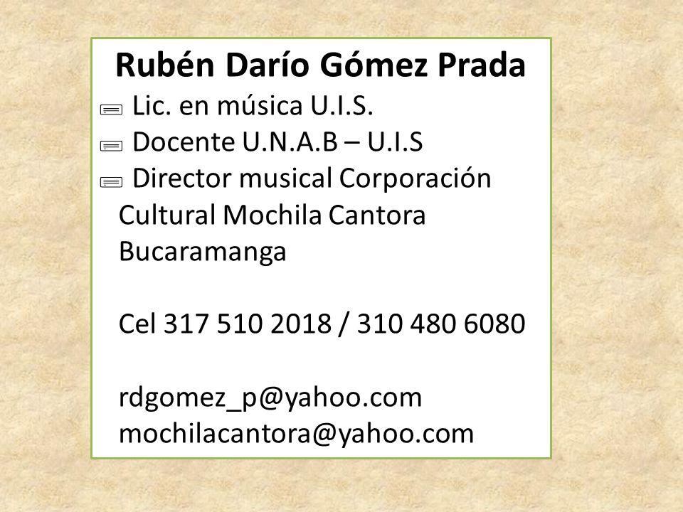Rubén Darío Gómez Prada