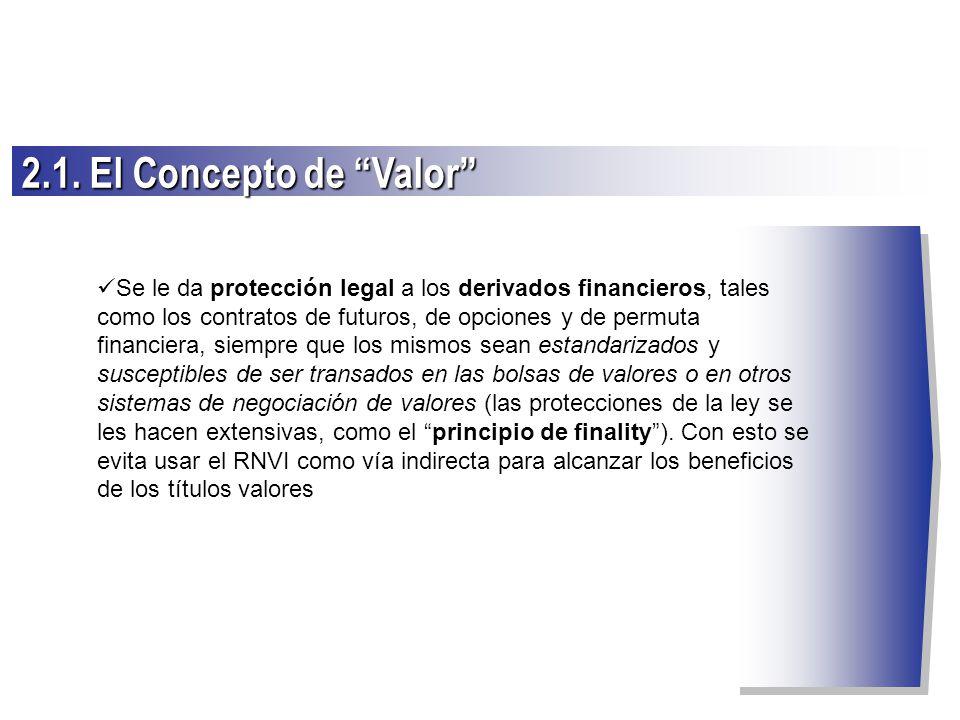 2.1. El Concepto de Valor