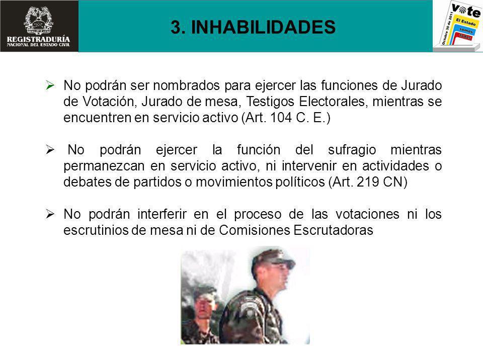 3. INHABILIDADES