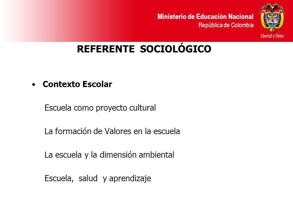 REFERENTE SOCIOLÓGICO