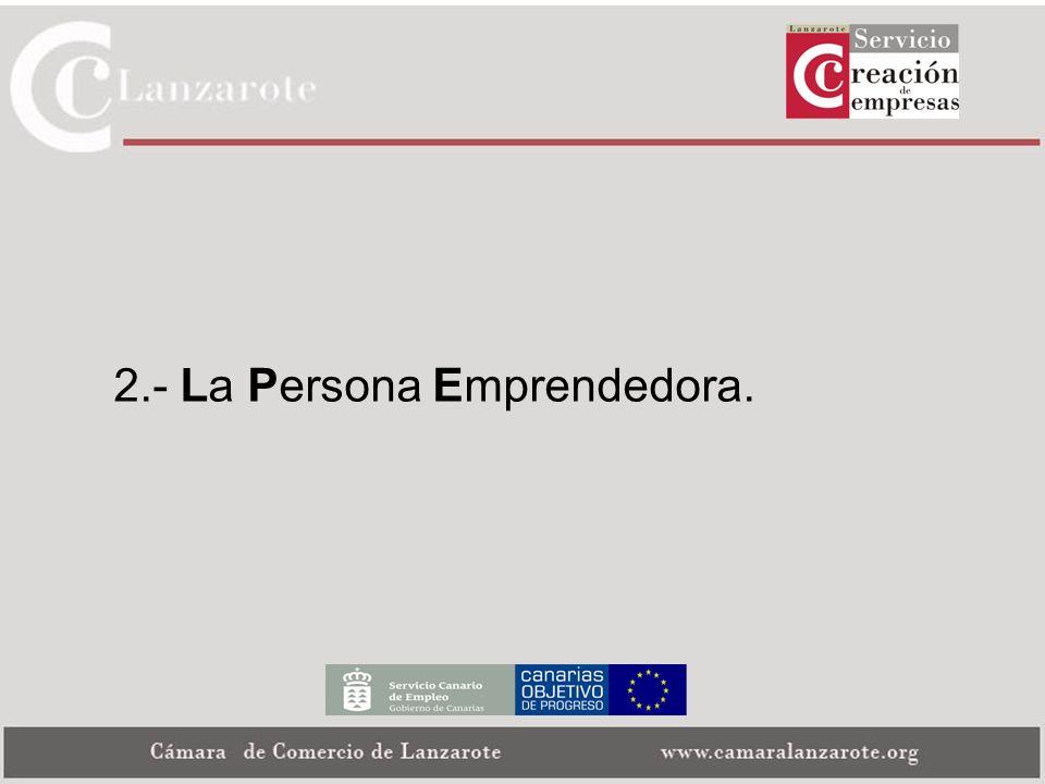 2.- La Persona Emprendedora.
