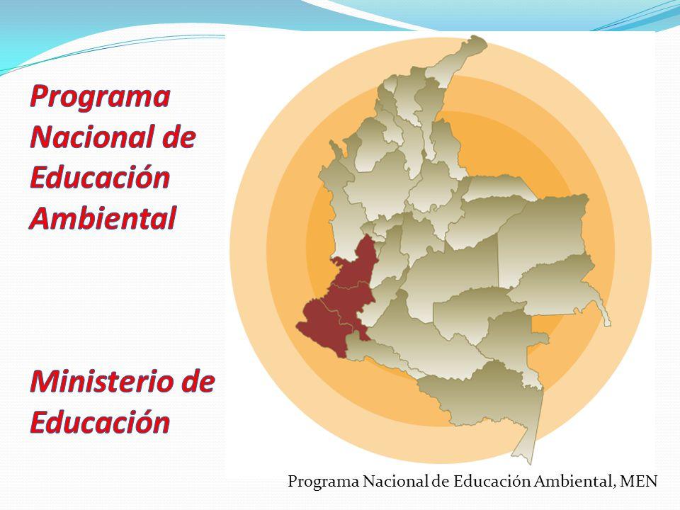 Programa Nacional de Educación Ambiental Ministerio de Educación