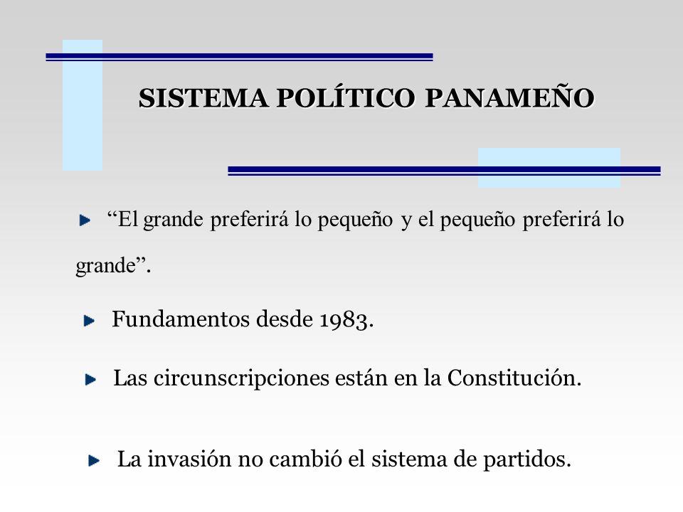 SISTEMA POLÍTICO PANAMEÑO