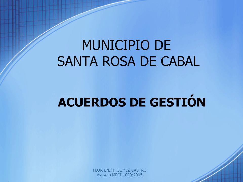 MUNICIPIO DE SANTA ROSA DE CABAL