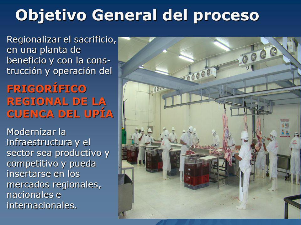 Objetivo General del proceso