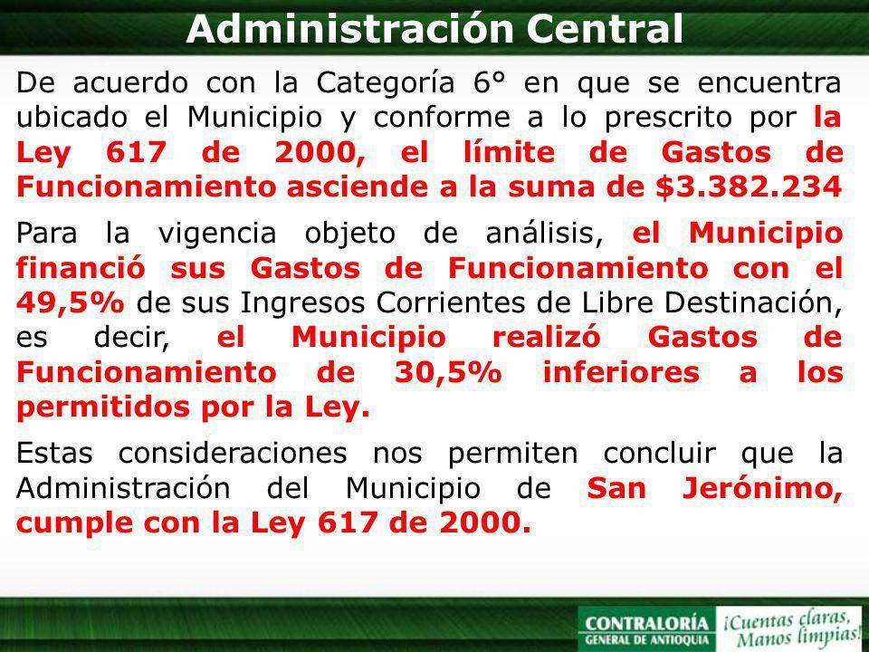 Administración Central