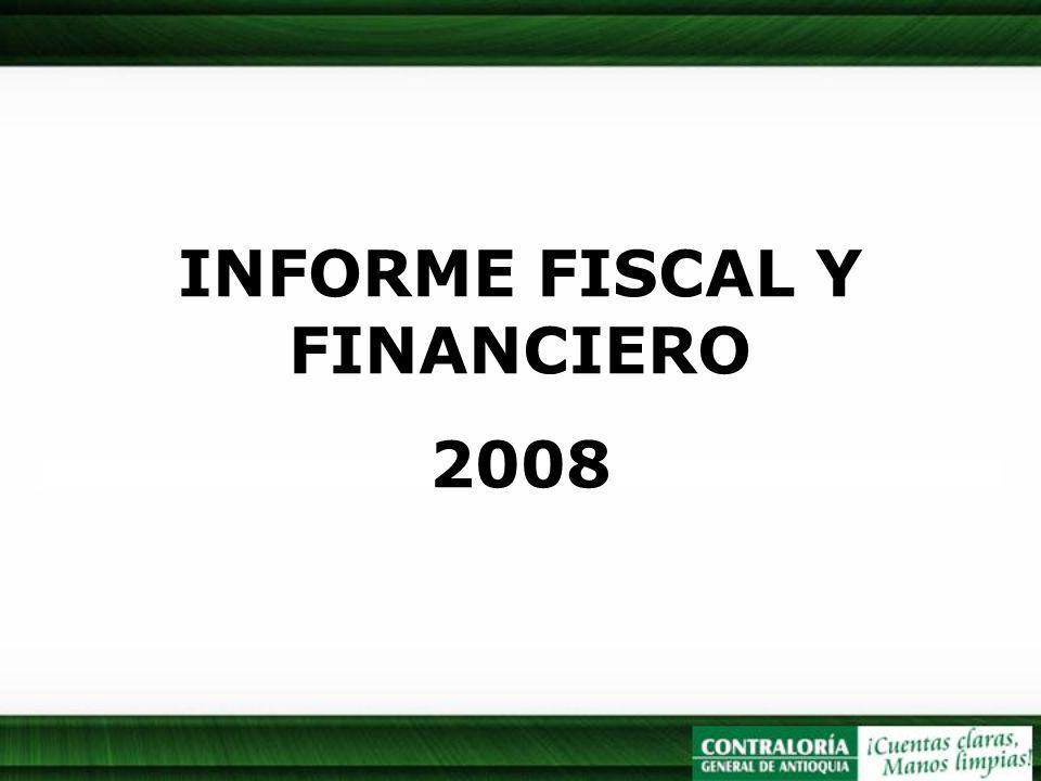 INFORME FISCAL Y FINANCIERO