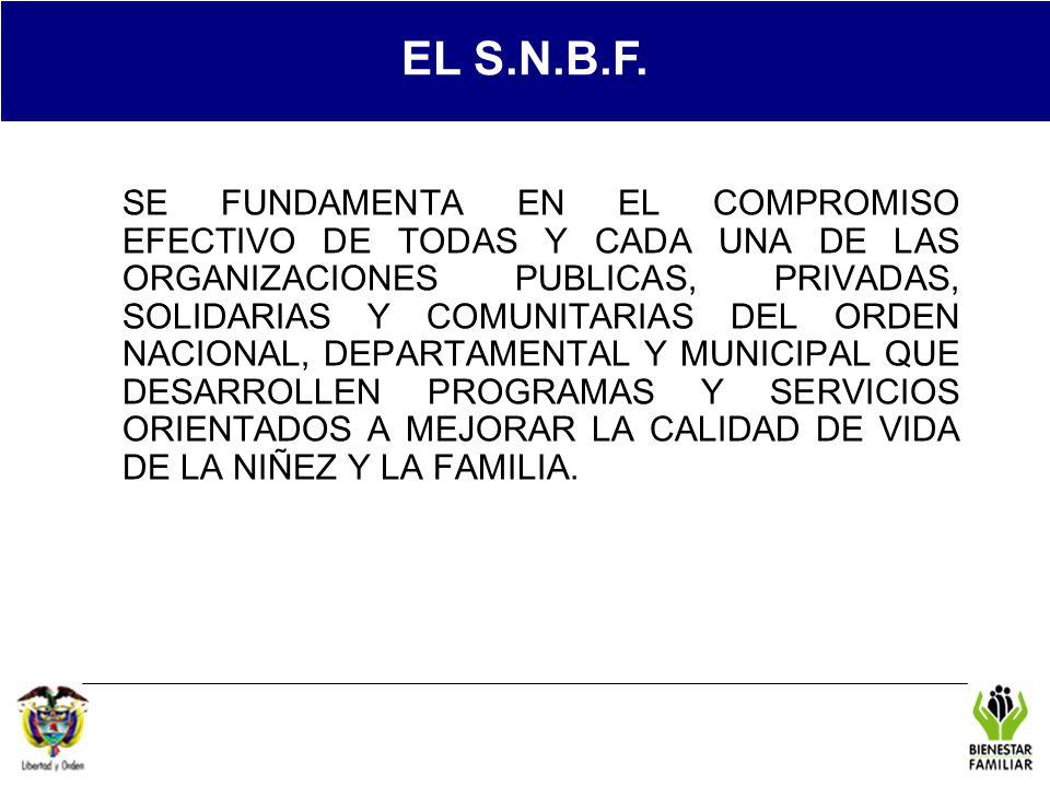 EL S.N.B.F. REGIONAL TOL.