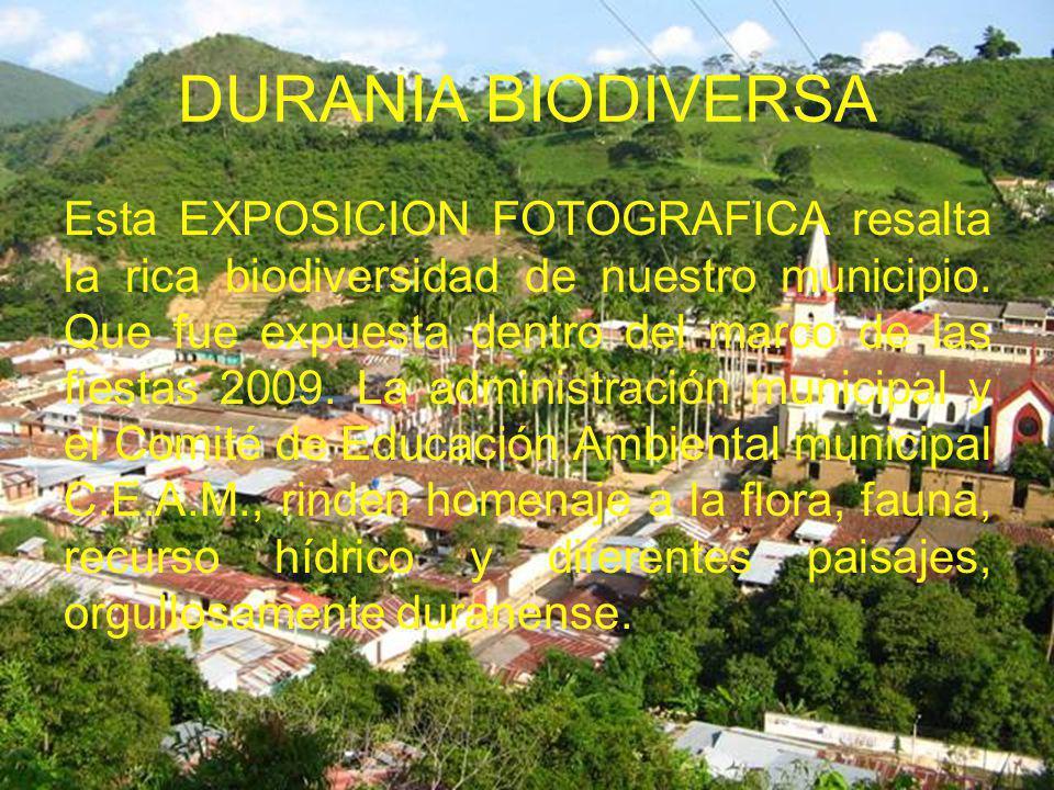 DURANIA BIODIVERSA