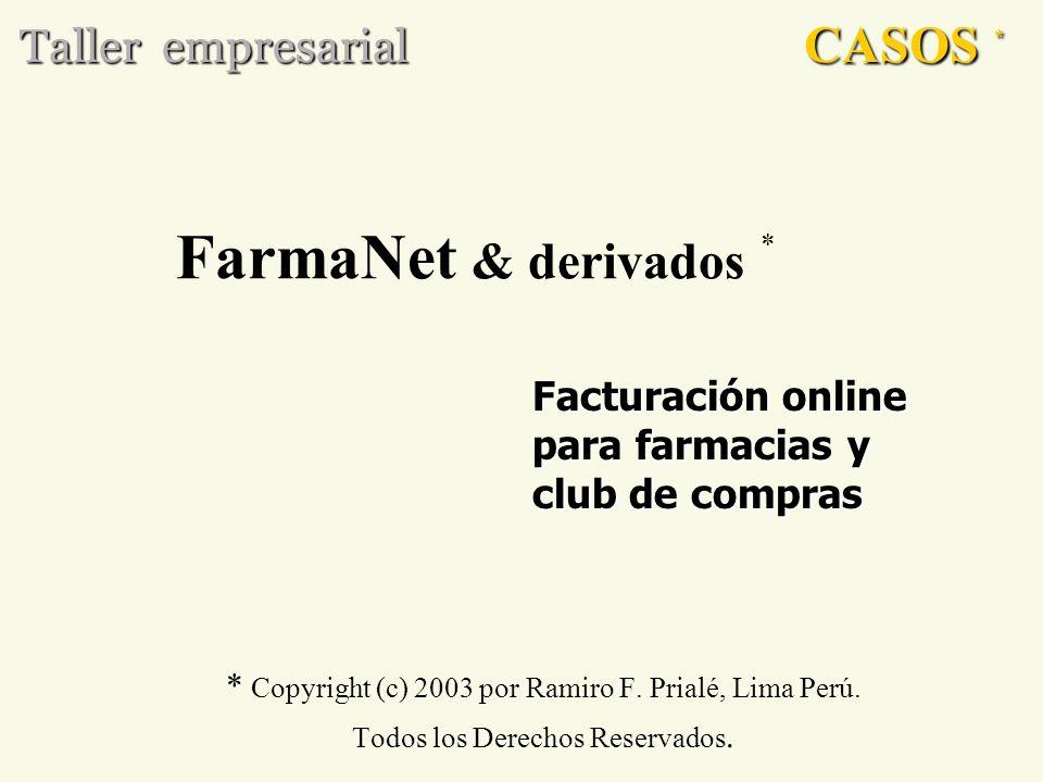 FarmaNet & derivados * CASOS * Taller empresarial