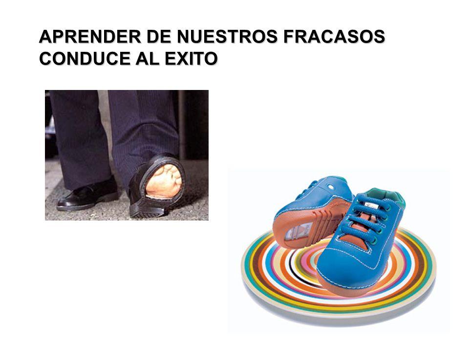 APRENDER DE NUESTROS FRACASOS