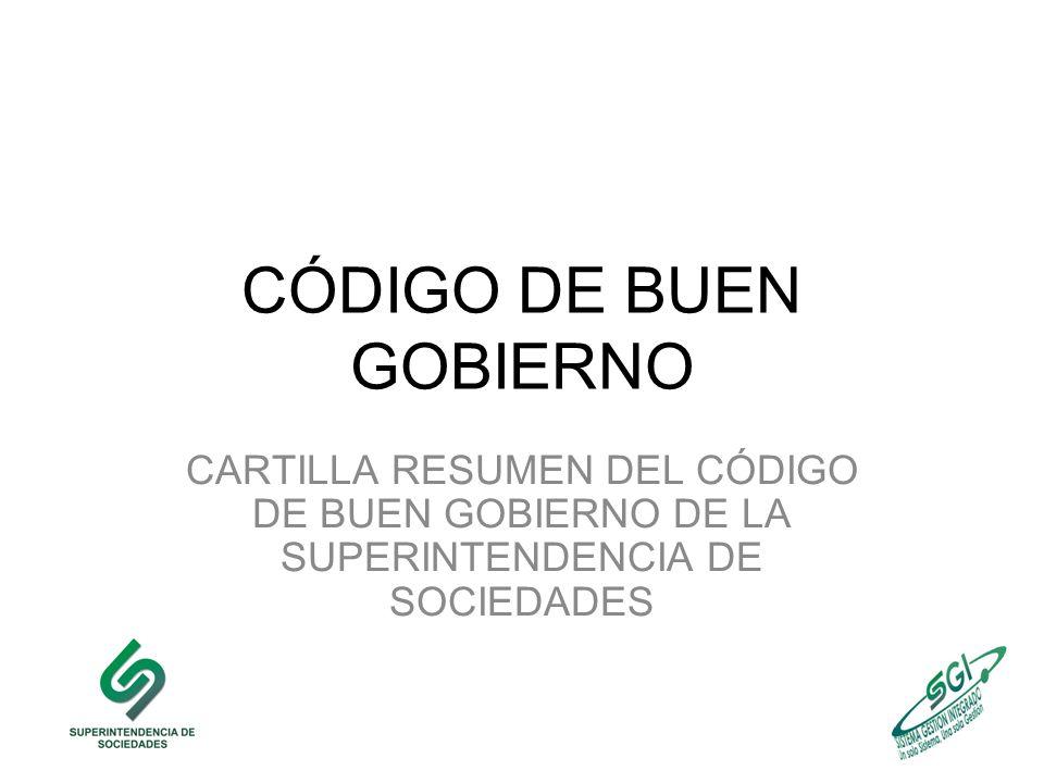 CÓDIGO DE BUEN GOBIERNO