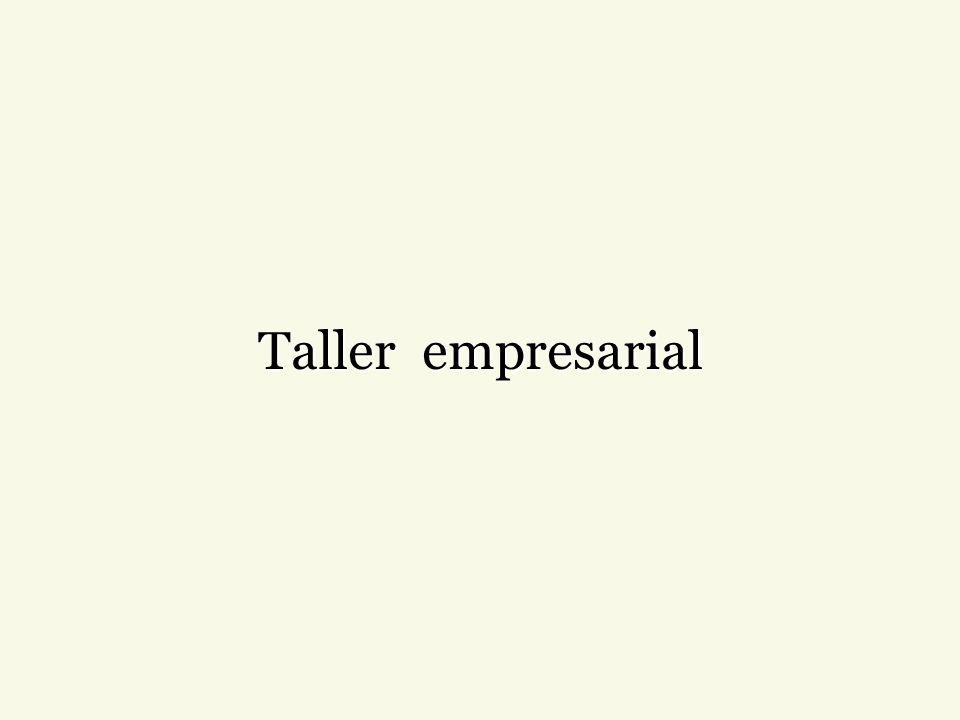 Taller empresarial