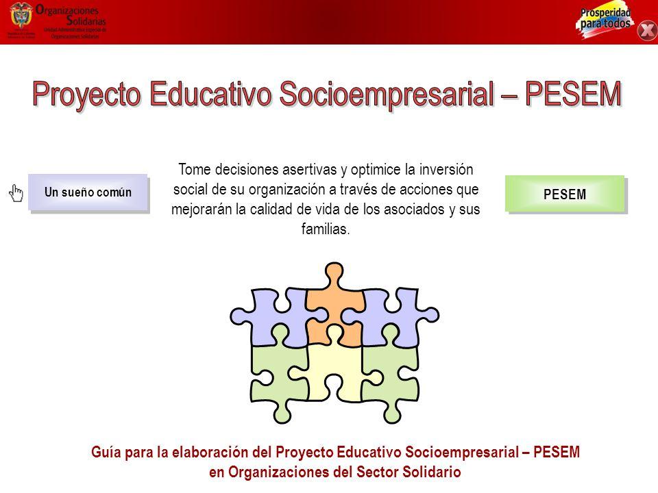 Proyecto Educativo Socioempresarial – PESEM