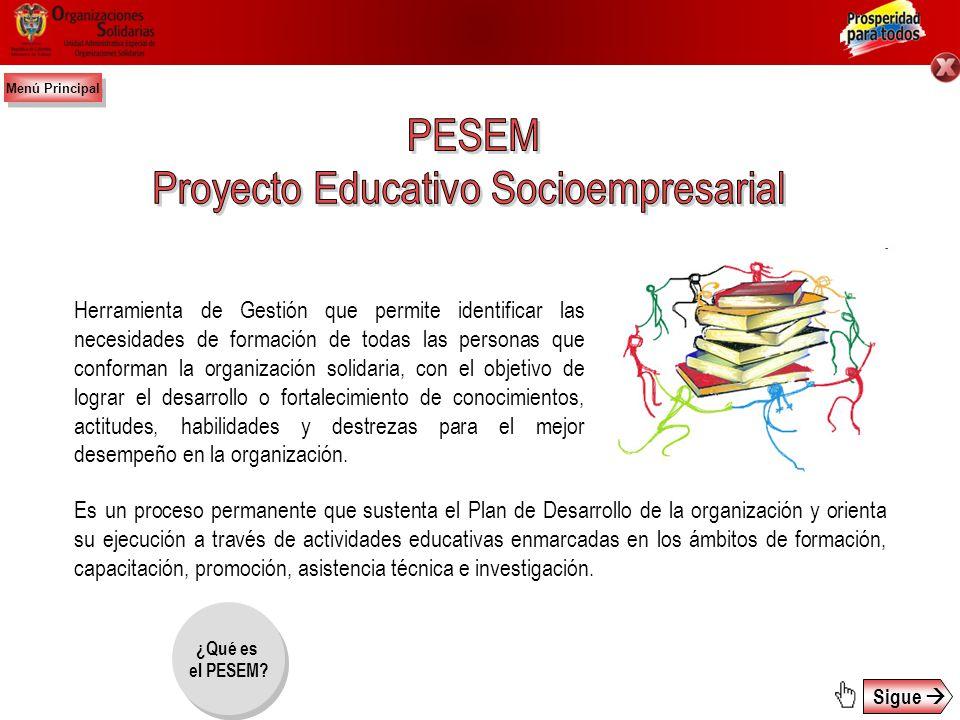 Proyecto Educativo Socioempresarial