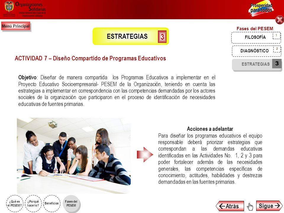ACTIVIDAD 7 – Diseño Compartido de Programas Educativos
