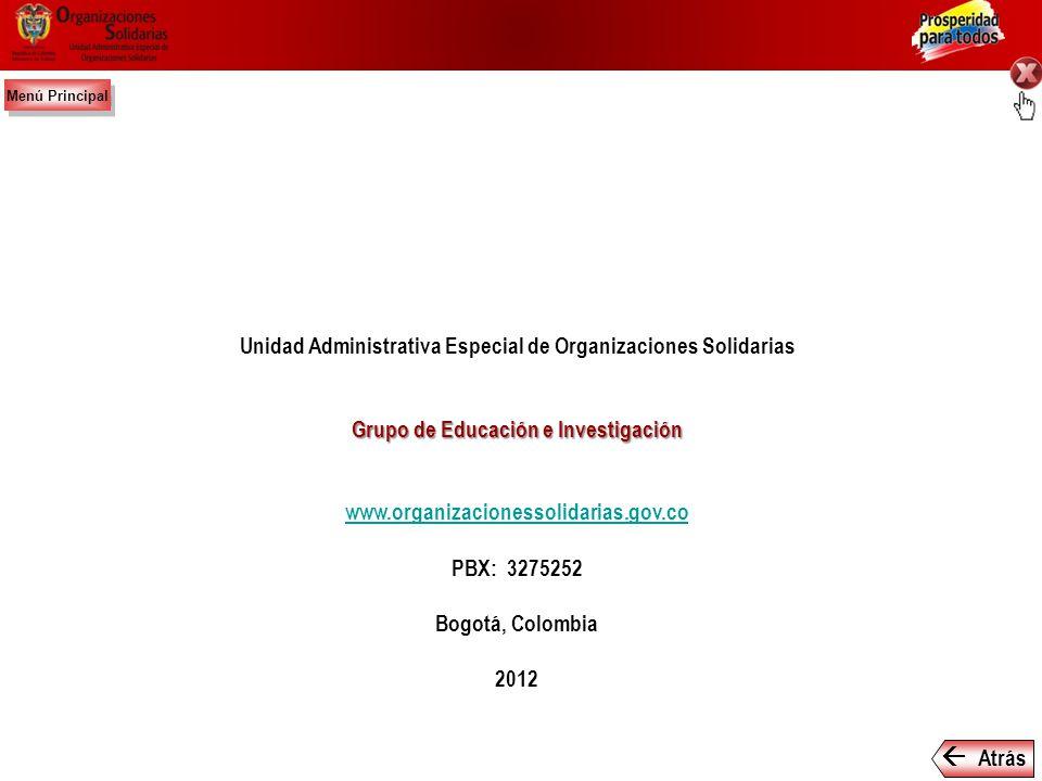  Unidad Administrativa Especial de Organizaciones Solidarias