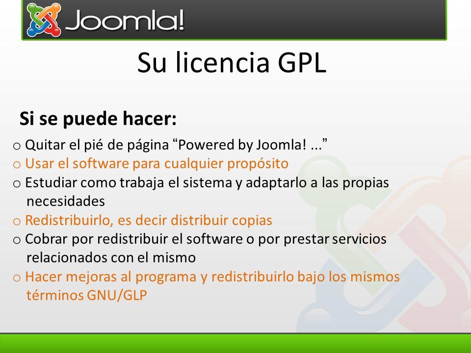 Su licencia GPL Si se puede hacer: