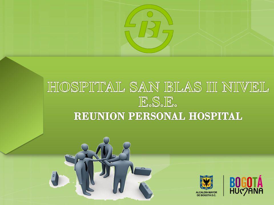 HOSPITAL SAN BLAS II NIVEL E.S.E.