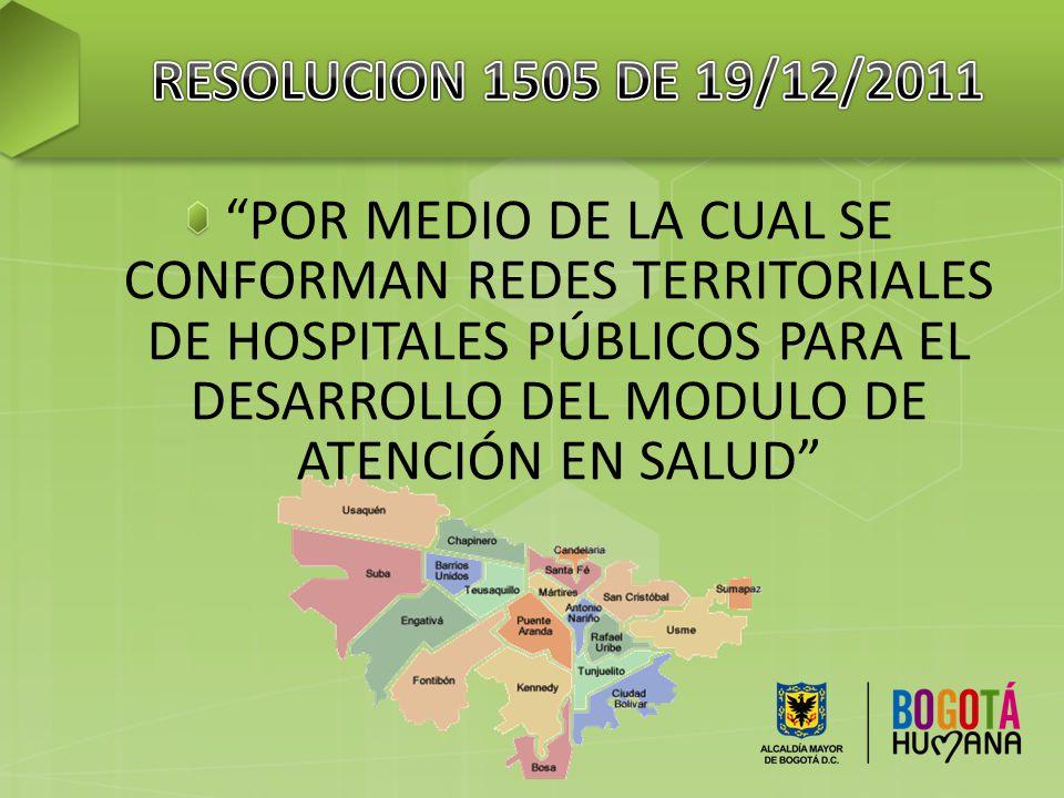 RESOLUCION 1505 DE 19/12/2011