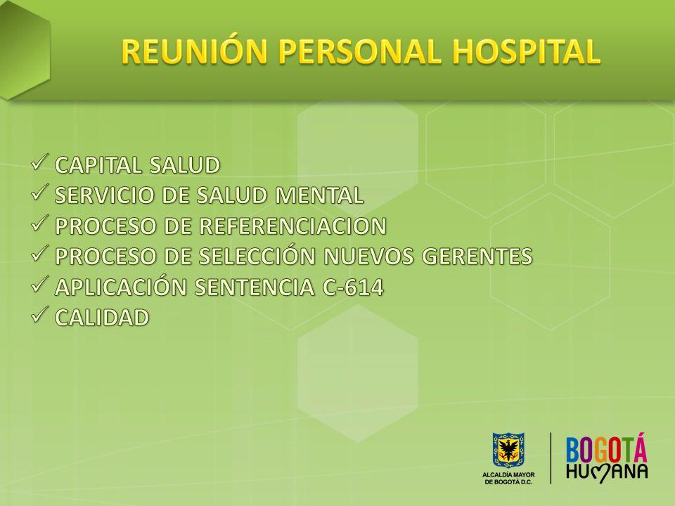 REUNIÓN PERSONAL HOSPITAL