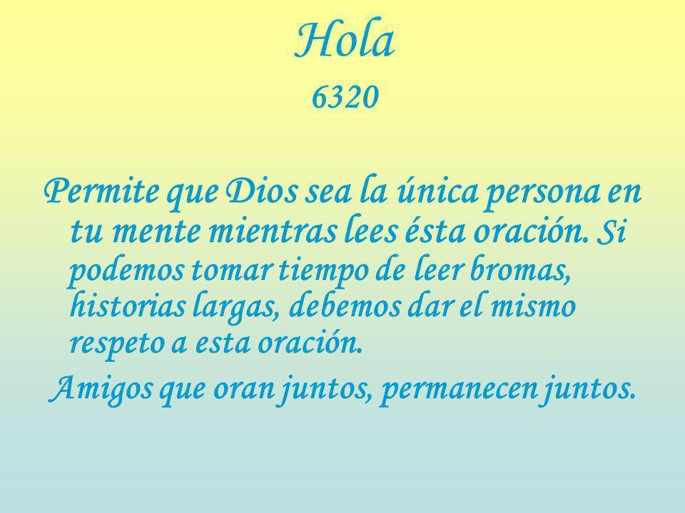 Hola 6320
