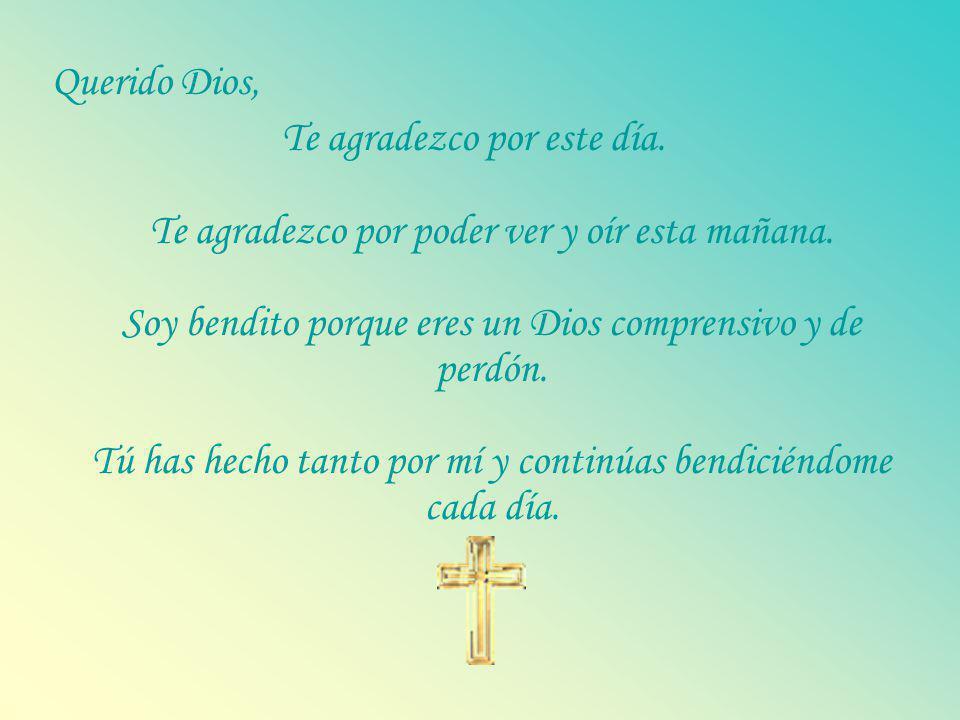 Querido Dios,