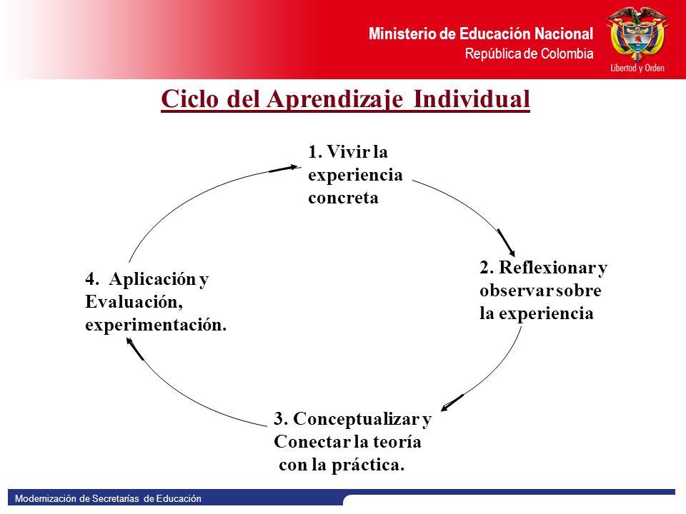 Ciclo del Aprendizaje Individual