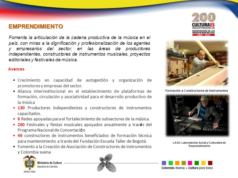 LASO-Laboratorios Social y Culturales de Emprendimiento