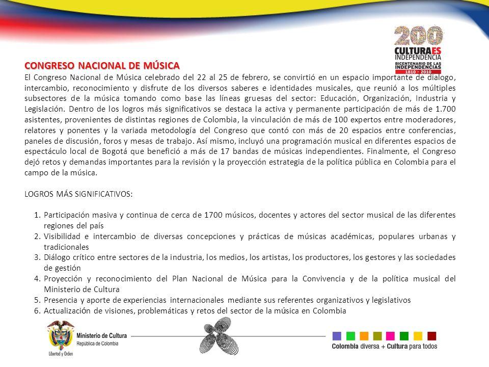 CONGRESO NACIONAL DE MÚSICA