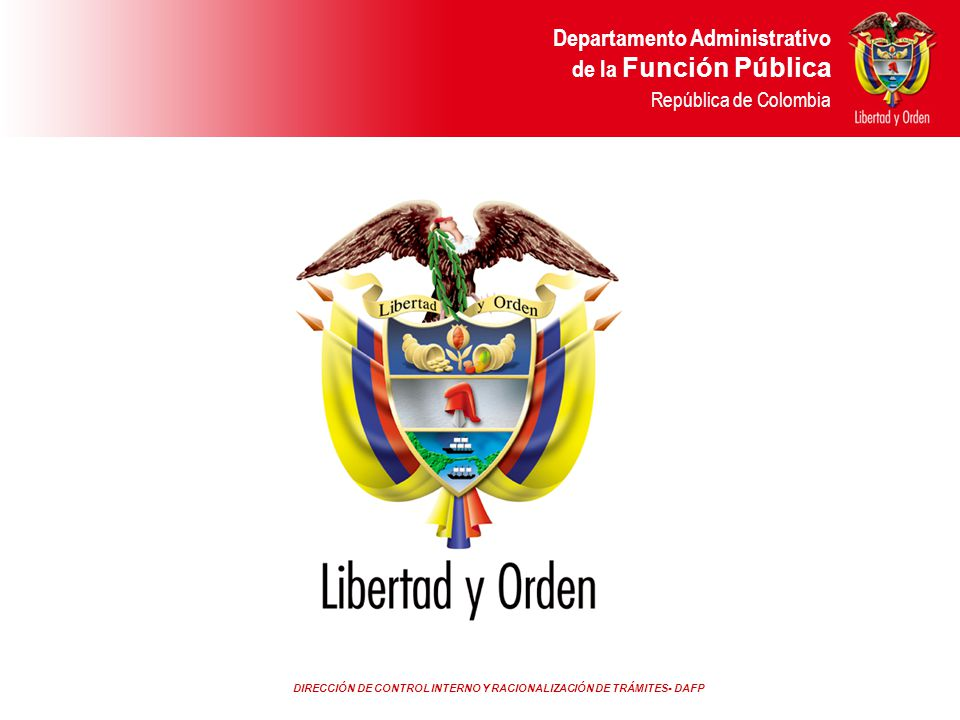 Departamento Administrativo de la Función Pública