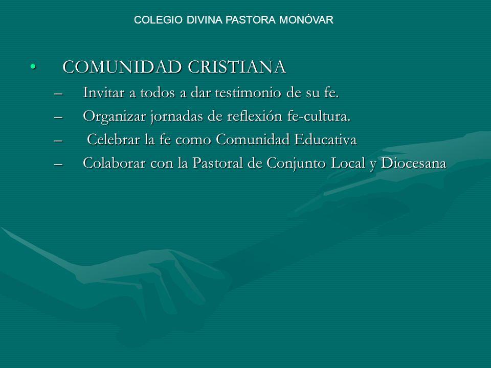 COLEGIO DIVINA PASTORA MONÓVAR