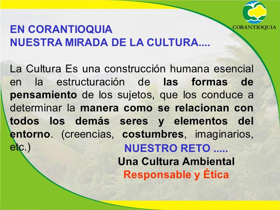 Una Cultura Ambiental Responsable y Ética