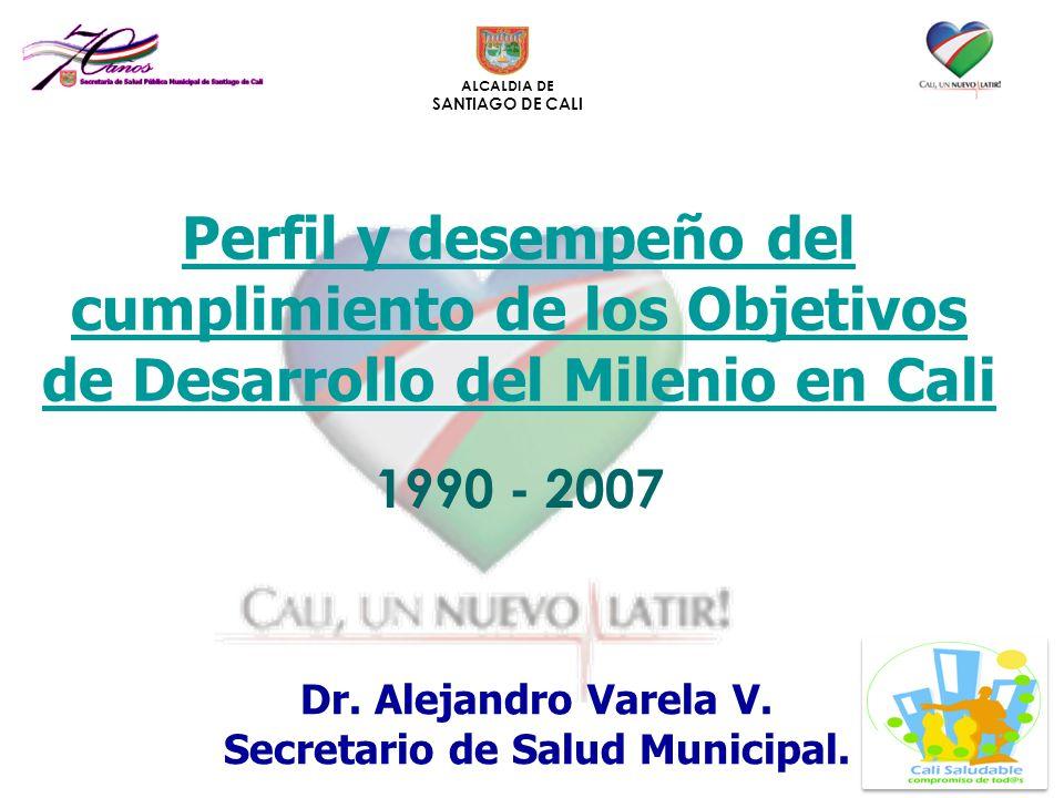 Dr. Alejandro Varela V. Secretario de Salud Municipal.