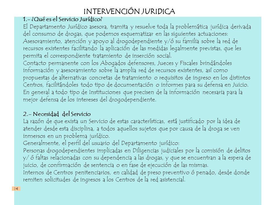INTERVENCIÓN JURIDICA