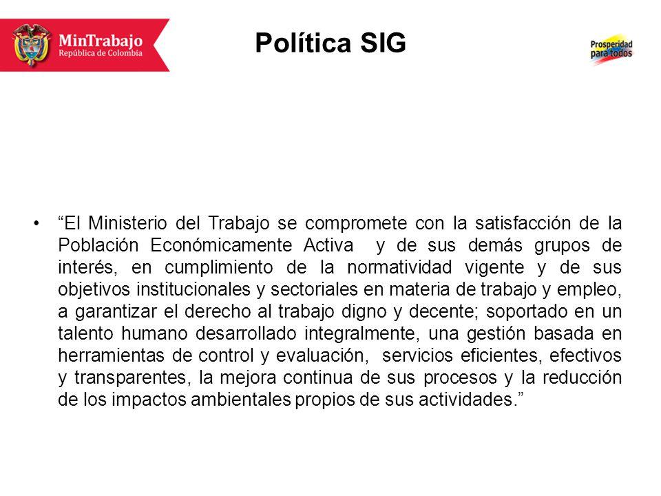 Política SIG