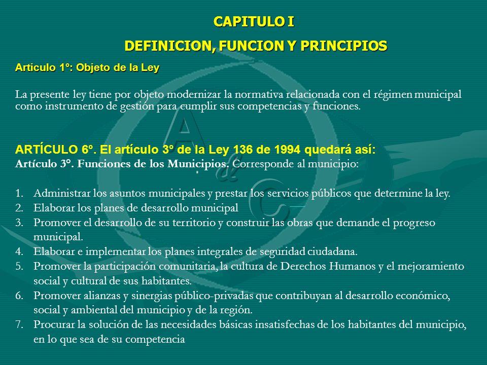 DEFINICION, FUNCION Y PRINCIPIOS
