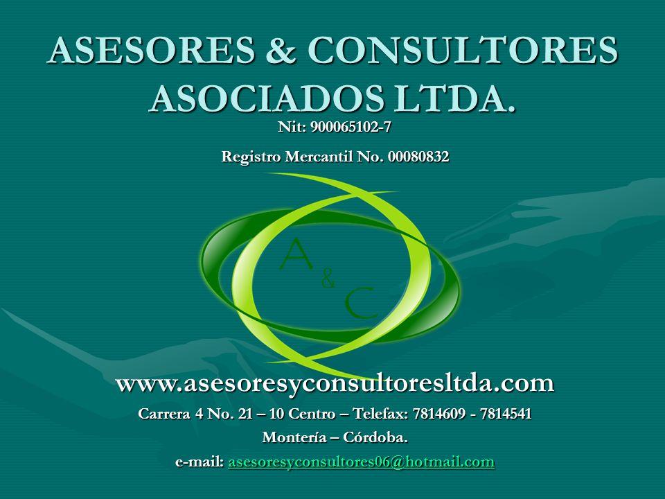 ASESORES & CONSULTORES ASOCIADOS LTDA.