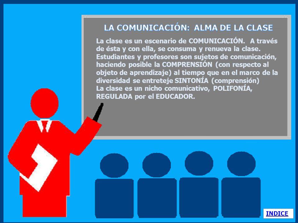 LA COMUNICACIÓN: ALMA DE LA CLASE
