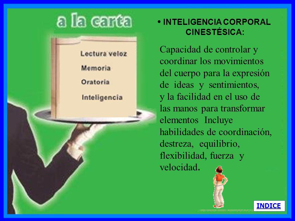 • INTELIGENCIA CORPORAL
