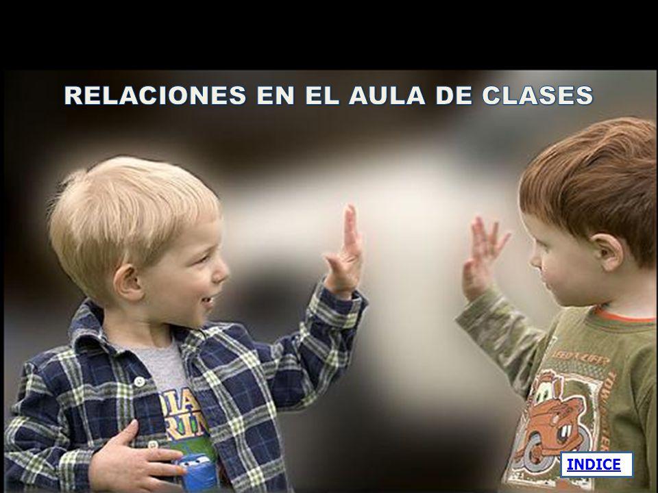 RELACIONES EN EL AULA DE CLASES
