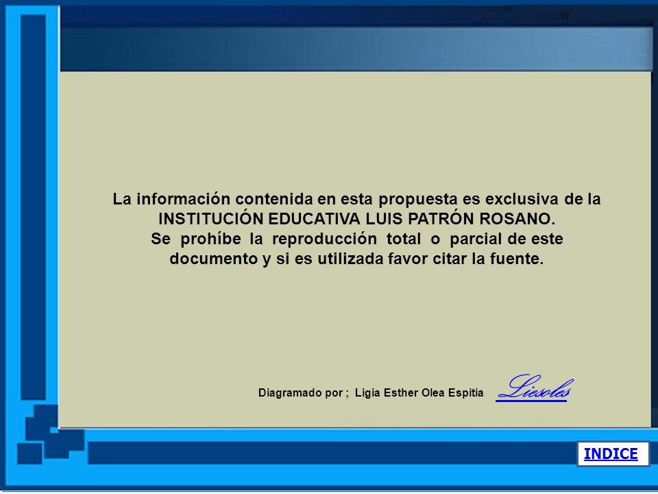www.ieluispatronrosano.santiagodetolu-sucre.gov.co La información contenida en esta propuesta es exclusiva de la.