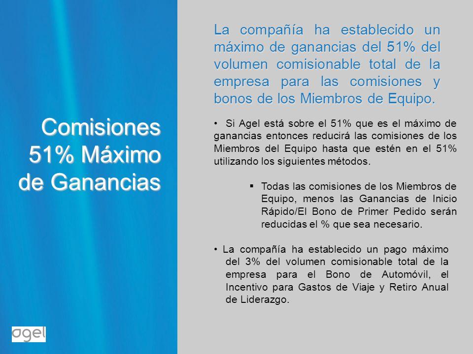 Comisiones 51% Máximo de Ganancias