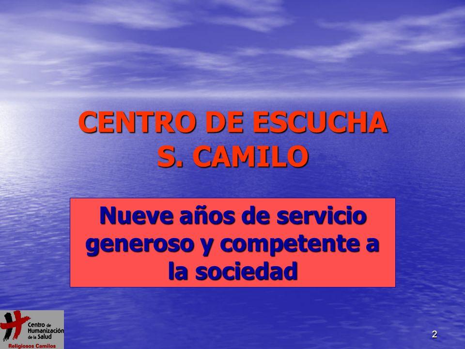 CENTRO DE ESCUCHA S. CAMILO