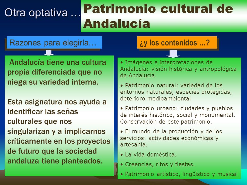 Patrimonio cultural de Andalucía