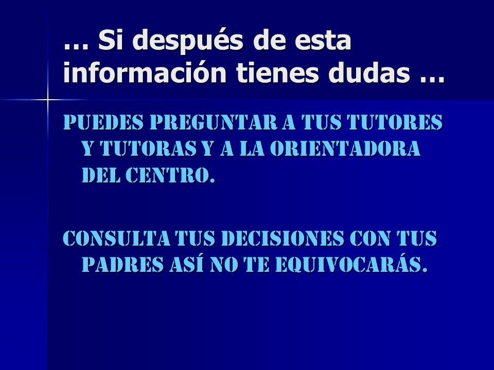 … Si después de esta información tienes dudas …