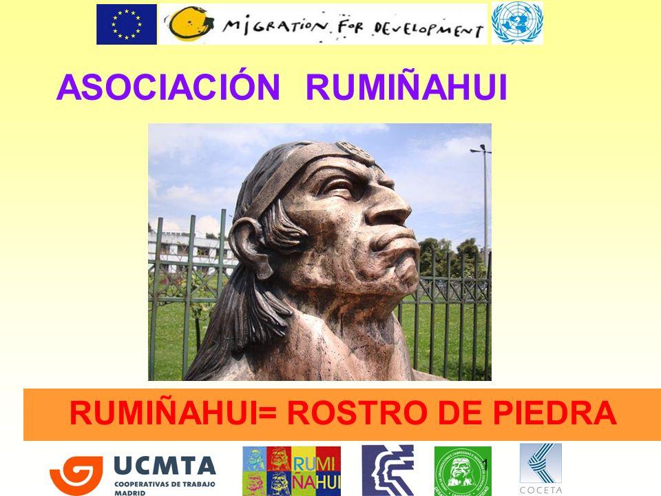 RUMIÑAHUI= ROSTRO DE PIEDRA
